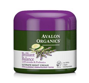 Avalon Organics Brilliant Balance Ultimate Night Cream  - Click to view a larger image