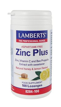 Lamberts Zinc Plus Lozenges  - Click to view a larger image