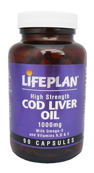 Lifeplan Cod Liver Oil 1000mg  - Click to view a larger image
