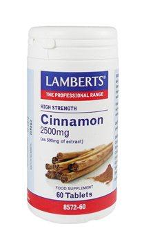 Lamberts Cinnamon 2500mg  - Click to view a larger image