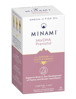 Minami Nutrition MoreDHA Prenatal  - Click to view a larger image