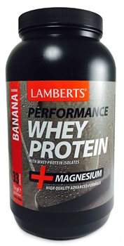 Lamberts Performance Whey Protein Banana Flavour   - Click to view a larger image