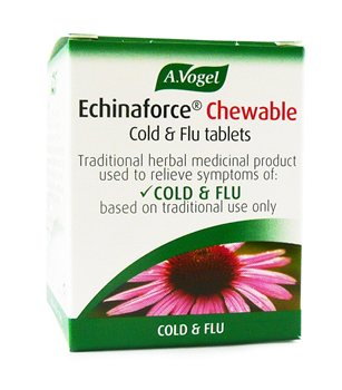 Avogel Echinaforce Echinacea Chewable  - Click to view a larger image