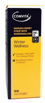 Comvita Manuka Honey Syrup with Marshmallow  - Click to view a larger image