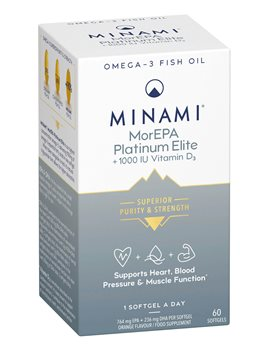 Minami Nutrition MorEPA Platinum  - Click to view a larger image
