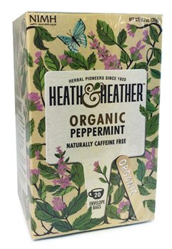 Heath & Heather Organic Peppermint  - Click to view a larger image