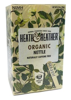 Heath & Heather Organic Nettle  - Click to view a larger image