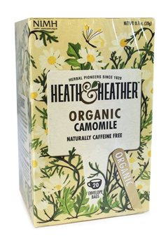 Heath & Heather Organic Camomile  - Click to view a larger image
