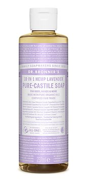 Dr Bronner's Lavender Castile Liquid Soap  - Click to view a larger image