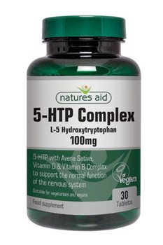 Natures Aid 5 HTP Complex 100mg  - Click to view a larger image