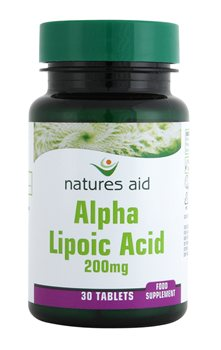 Natures Aid Alpha Lipoic Acid 200mg  - Click to view a larger image