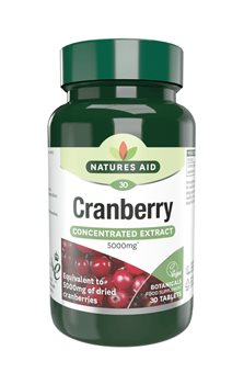 Natures Aid Cranberry 200mg  - Click to view a larger image