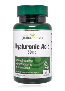Natures Aid Hyaluronic Acid 50mg  - Click to view a larger image