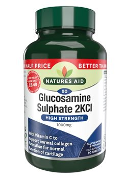 Natures Aid Glucosamine Sulphate 1000mg  - Click to view a larger image