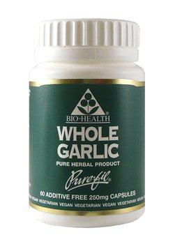 Bio Health Whole Garlic 250mg   - Click to view a larger image