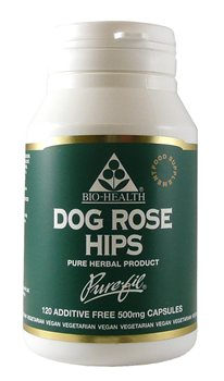 Bio Health Dog Rose Hips 500mg  - Click to view a larger image