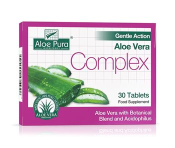 Aloe Pura Gentle Action Aloe Vera Colax Tablets  - Click to view a larger image
