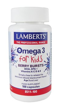 Lamberts Omega 3 for Kids Berry Burst  - Click to view a larger image