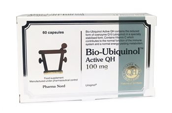Pharmanord Bio Ubiquinol Active QH 100mg  - Click to view a larger image