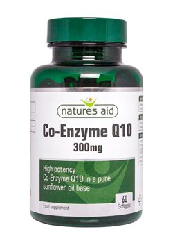 Natures Aid Co-Enzyme Q10 300mg  - Click to view a larger image
