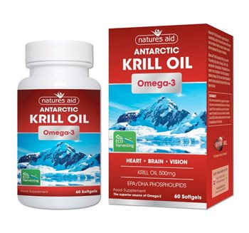 Natures Aid Krill Oil  - Click to view a larger image