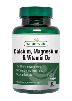 Natures Aid Calcium Magnesium and Vitamin D3  - Click to view a larger image