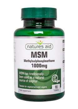 Natures Aid MSM 1000mg  - Click to view a larger image