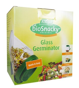 Avogel Bio Snacky Germinator Jar  - Click to view a larger image