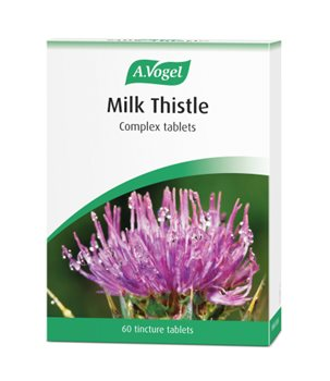 Avogel Milk Thistle Tincture Tablets  - Click to view a larger image