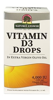 Natures Answer Vitamin D3 4000iu   - Click to view a larger image