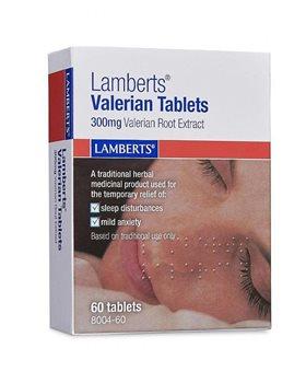 Lamberts Valerian 300mg  - Click to view a larger image