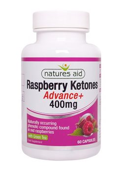 Natures Aid Raspberry Ketones Advance  - Click to view a larger image