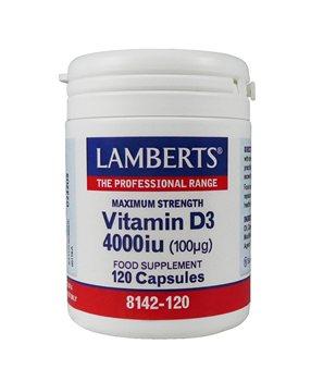 Lamberts Vitamin D3 4000iu