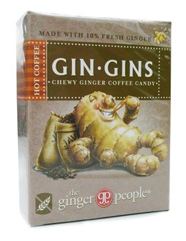 The ginger people Gin Gins Hot Coffee Chewy Ginger Candy   - Click to view a larger image