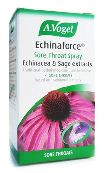 Avogel Echinaforce Echinacea Throat Spray  - Click to view a larger image