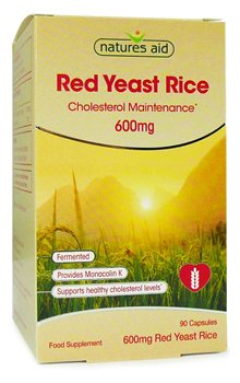 Natures Aid Red Yeast Rice 600mg  - Click to view a larger image