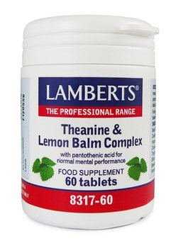 Lamberts Theanine and Lemon Balm Complex  - Click to view a larger image
