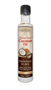 Natures Aid Liquid Coconut Oil  - Click to view a larger image