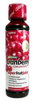 Optima Cranberry Concentrate juice  - Click to view a larger image
