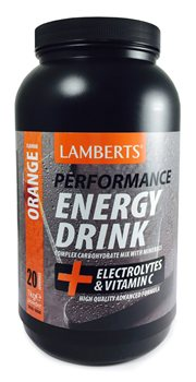 Lamberts Energy Drink Orange  - Click to view a larger image