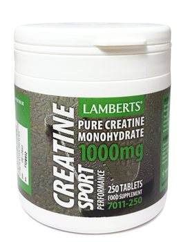 Lamberts Creatine Tablets  - Click to view a larger image