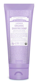 Dr Bronner's Lavender Organic Shaving Soap  - Click to view a larger image