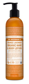 Dr Bronner's Orange Lavender Hand & Body Organic Lotion  - Click to view a larger image