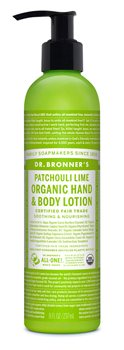 Dr Bronner's Patchouli Lime Organic Hand & Body Lotion  - Click to view a larger image