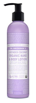 Dr Bronner's Lavender Coconut Hand & Body Organic Lotion  - Click to view a larger image