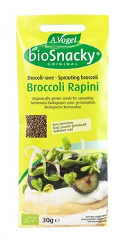 Avogel Bio Snacky Broccoli Rapini  - Click to view a larger image