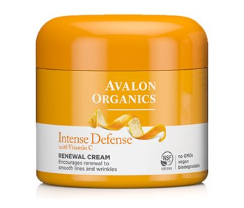 Avalon Organics Intense Defence Renewal Cream  - Click to view a larger image