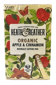Heath & Heather Organic Apple & Cinnamon  - Click to view a larger image