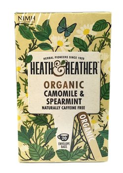 Heath & Heather Organic Camomile & Spearmint  - Click to view a larger image