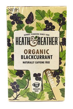 Heath & Heather Organic Blackcurrant   - Click to view a larger image